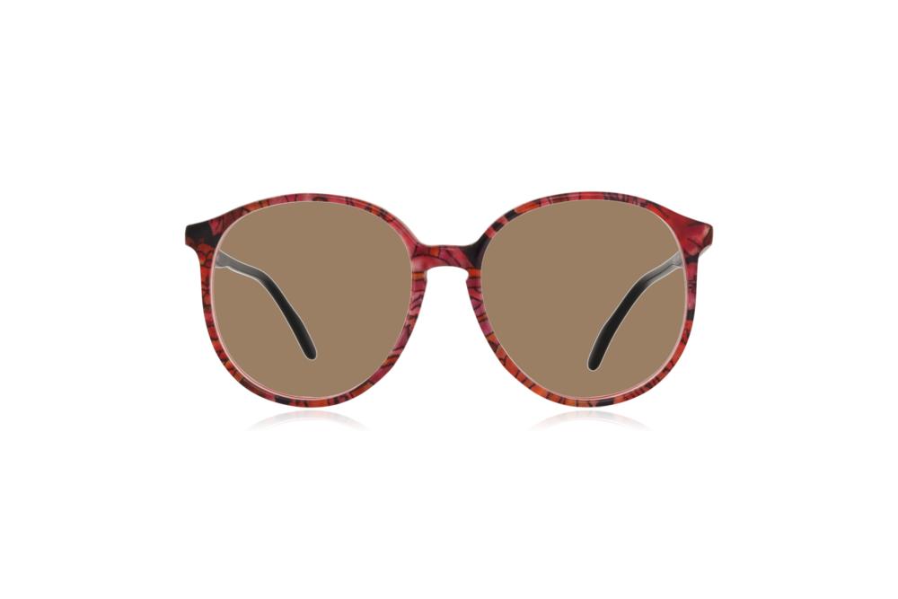 Peep Eyewear, Vintage Glasses, Couture 6261 Col V8, Front Sahara.png