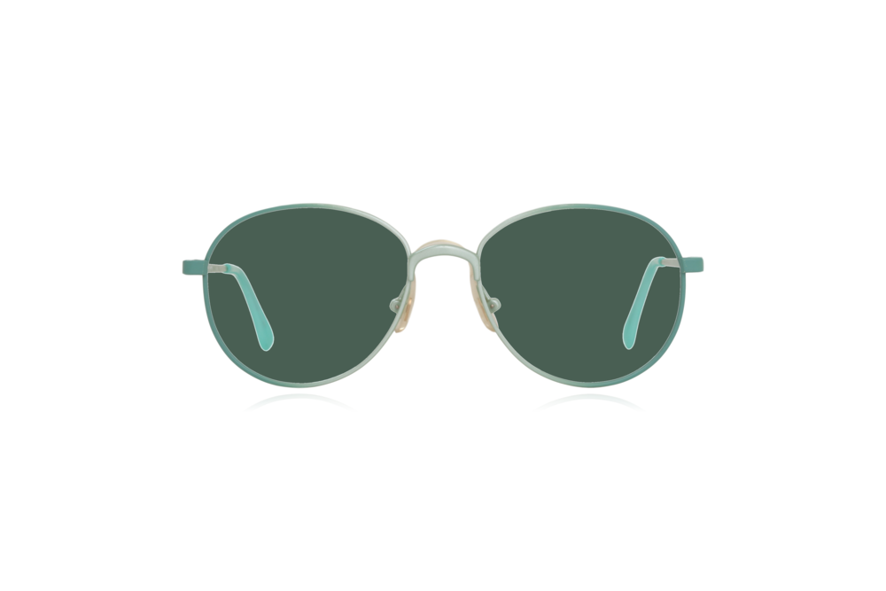Peep Eyewear, Vintage Glasses, Round, Mint Green, Candy, Green.png