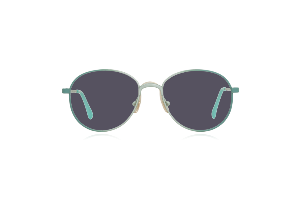 Peep Eyewear, Vintage Glasses, Round, Mint Green, Candy, Grey.png