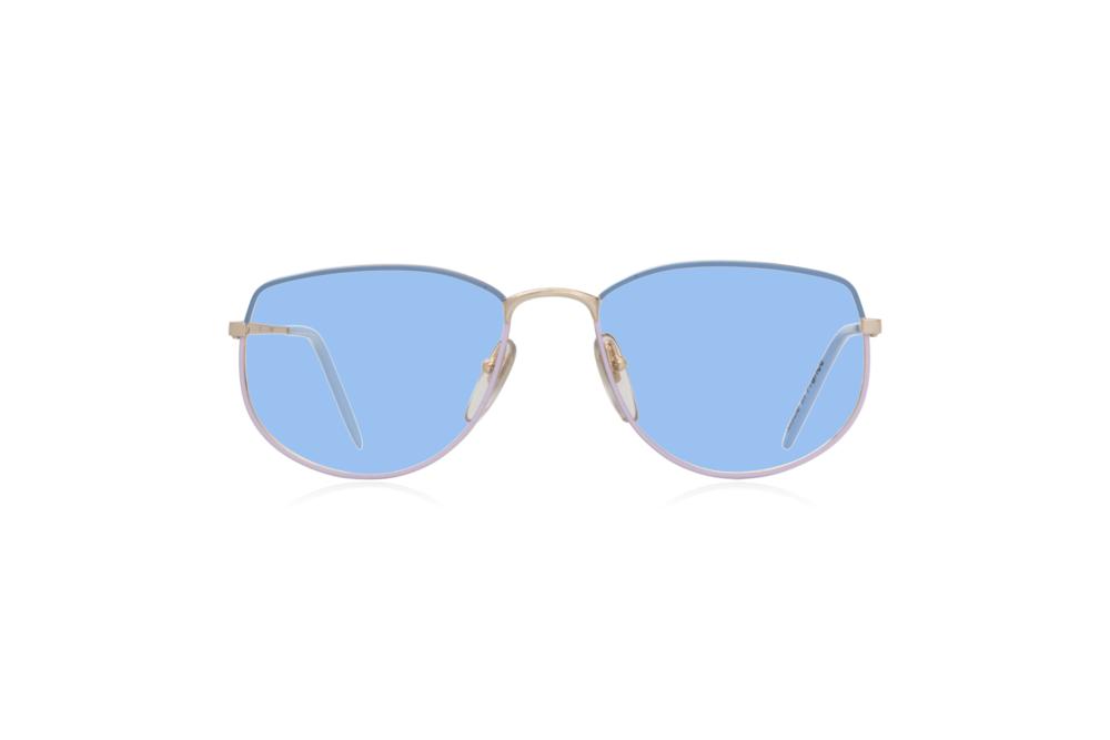 Peep Eyewear, Vintage Glasses, Vivienne, Blue Purple, Front, Blue.png