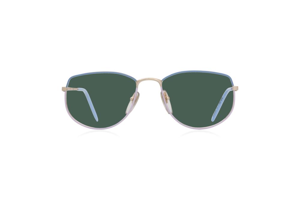Peep Eyewear, Vintage Glasses, Vivienne, Blue Purple, Front, Green.png