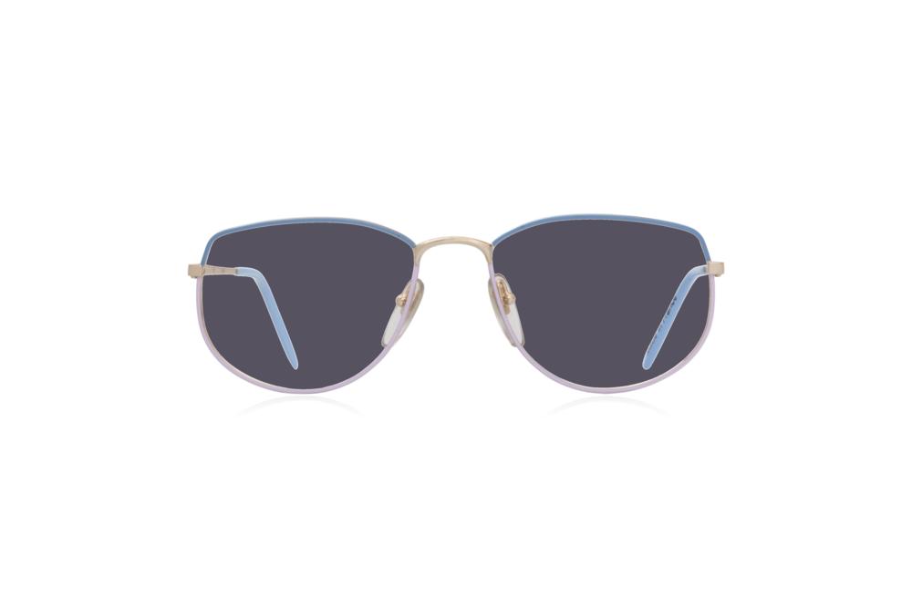 Peep Eyewear, Vintage Glasses, Vivienne, Blue Purple, Front, Grey.png