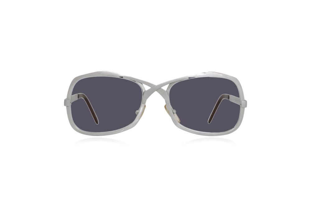 Peep Eyewear, Vintage Glasses, Metal, Silver, Grey.png