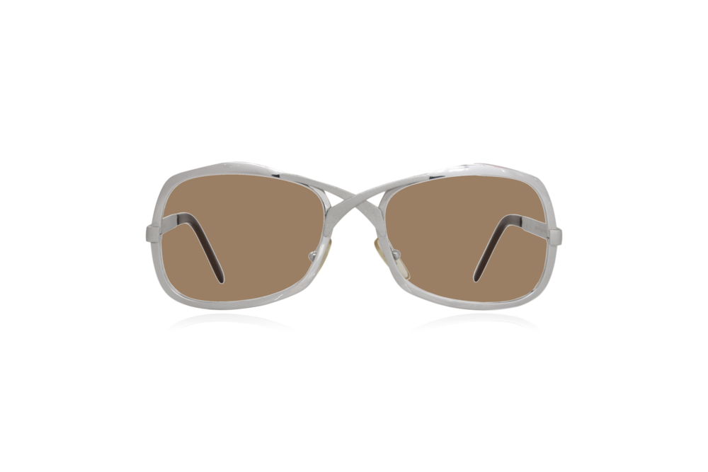 Peep Eyewear, Vintage Glasses, Metal, Silver, Sahara.png