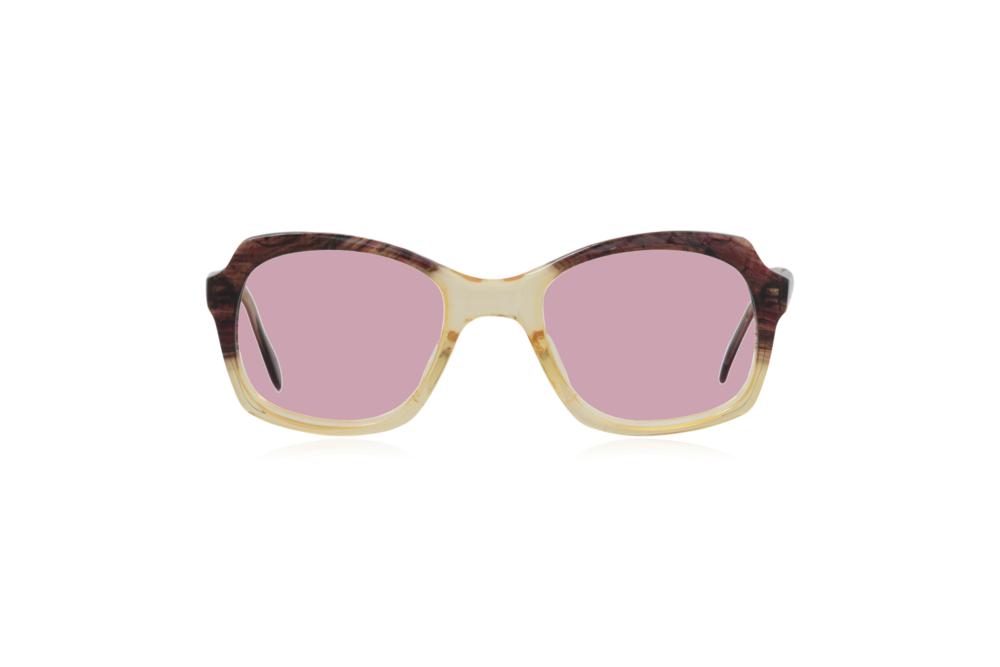 Peep Eyewear, Vintage Glasses, 1950s, Brown and Yellow, Pink.png