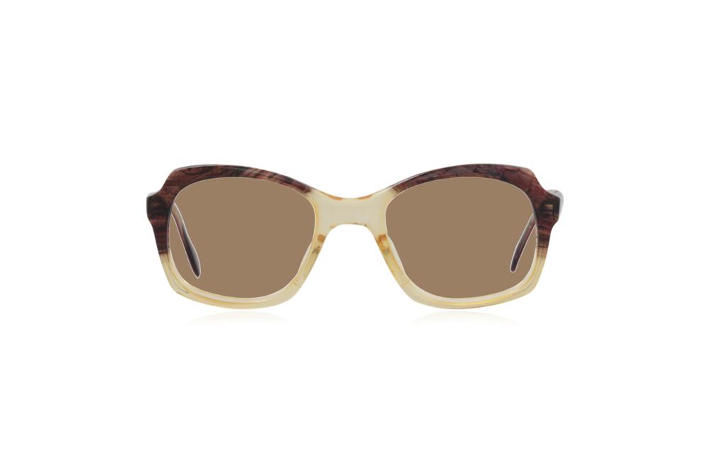 Peep Eyewear, Vintage Glasses, 1950s, Brown and Yellow, Sahara.png