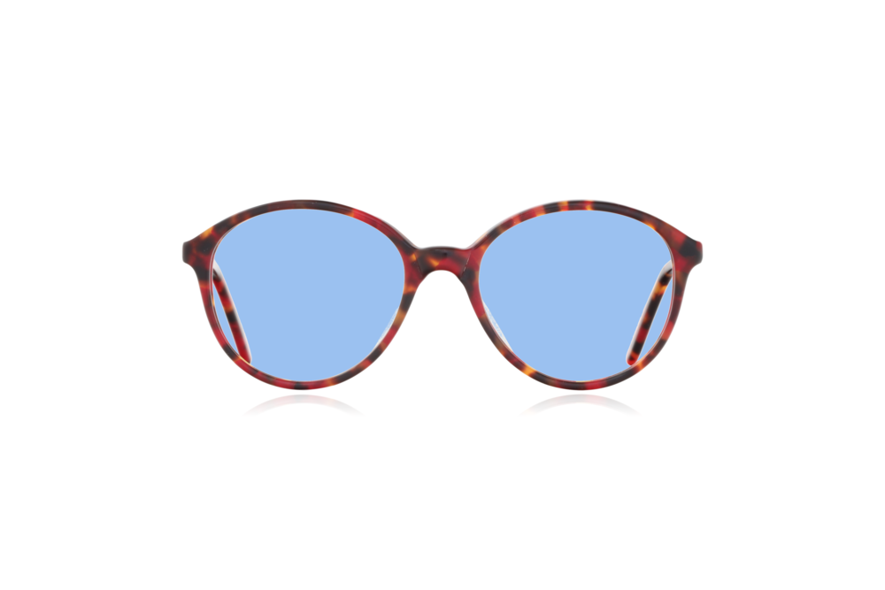 Peep Eyewear, Vintage Glasses, Poppy, Anglo American, Mod 168, Front, Blue.png