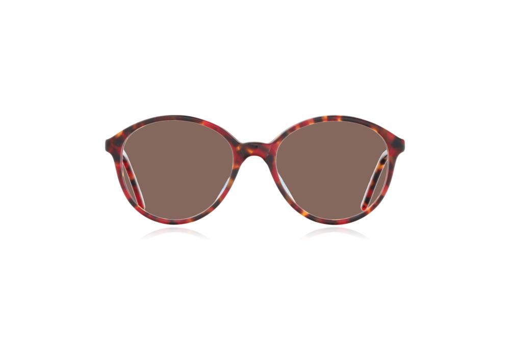 Peep Eyewear, Vintage Glasses, Poppy, Anglo American, Mod 168, Front, Brown.png