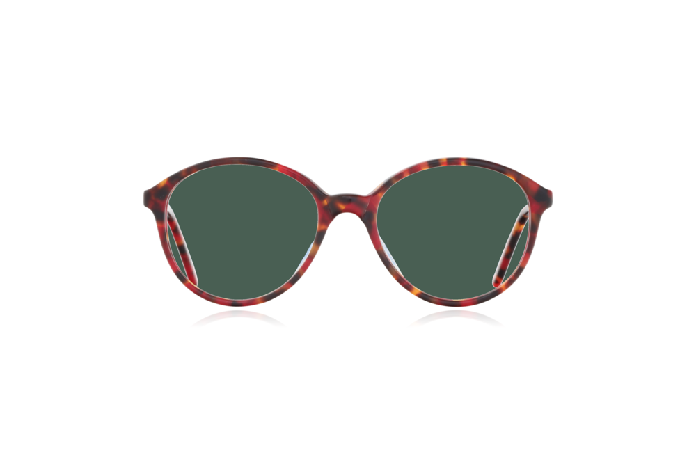 Peep Eyewear, Vintage Glasses, Poppy, Anglo American, Mod 168, Front, Green.png