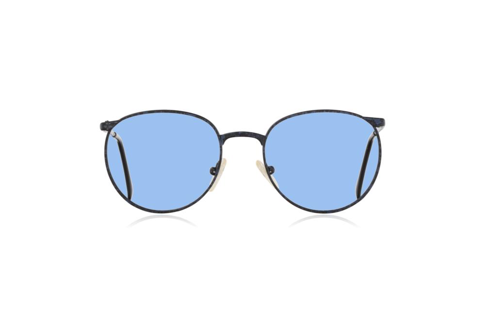 Peep Eyewear, Vintage Glasses, Mirari, Midnight, 5507, Col 4023, Front, Blue.png