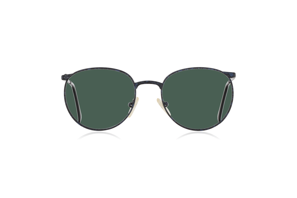 Peep Eyewear, Vintage Glasses, Mirari, Midnight, 5507, Col 4023, Front, Green.png