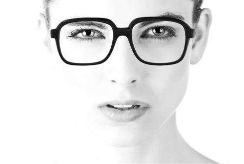 8fcabdd7249 Ink. 49.00. Go bold in this jet black 1970s frames by CM.
