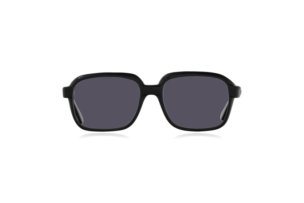Peep Eyewear, Vintage Glasses, CM, Ink Black, Plastic, Front, Grey.png
