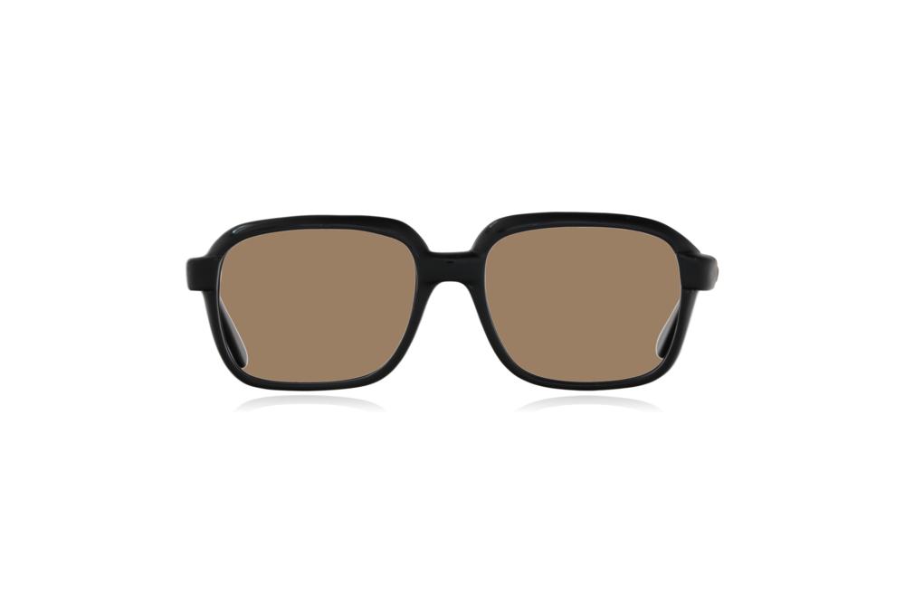 Peep Eyewear, Vintage Glasses, CM, Ink Black, Plastic, Front, Sahara.png