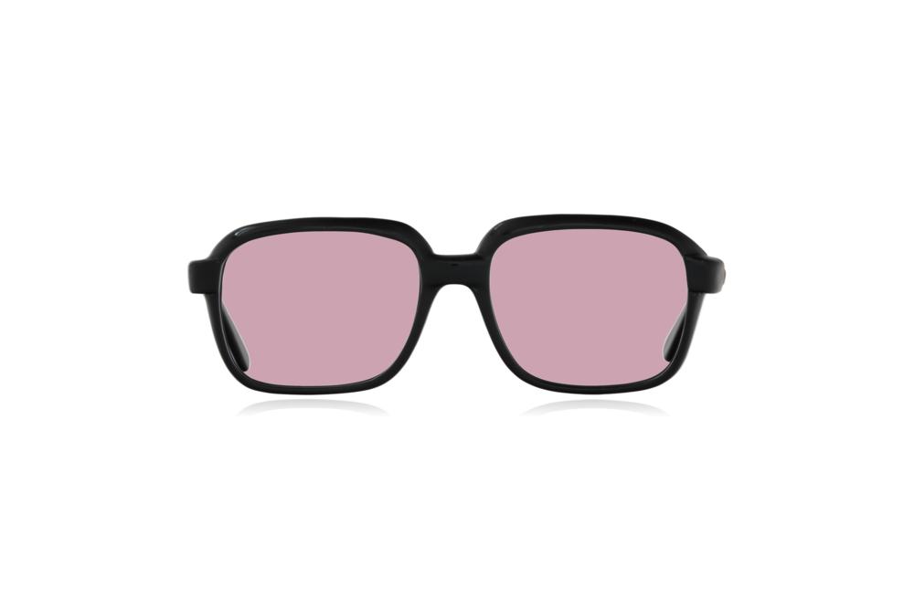 Peep Eyewear, Vintage Glasses, CM, Ink Black, Plastic, Front, Pink.png