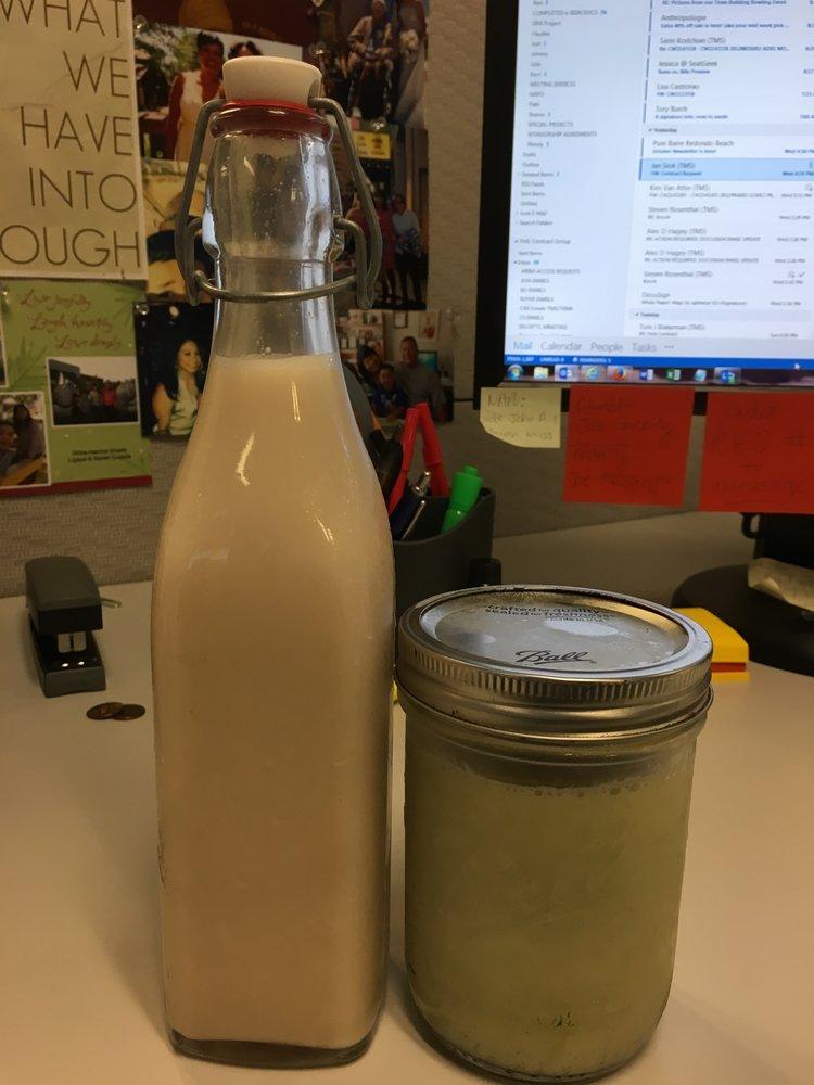 Greetings, Walmond milk.