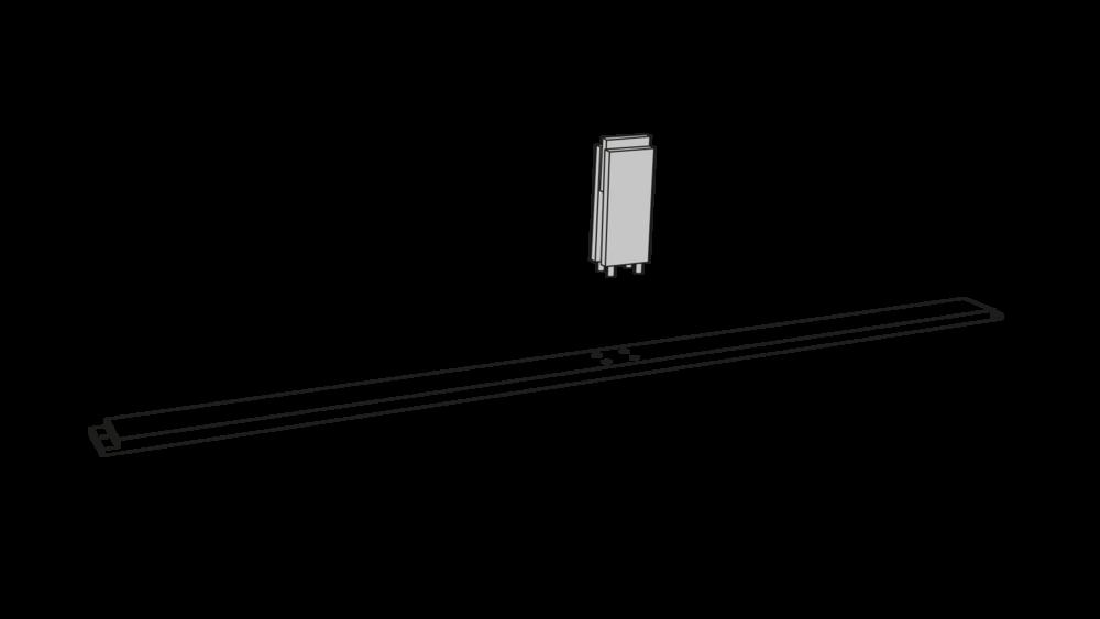 Schritt 03 - Stützfuss am Mittelsteg montieren