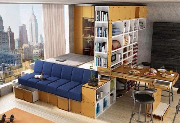 space saving interiors