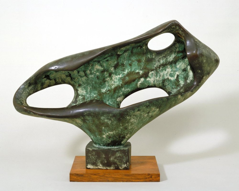 Dame Barbara Hepworth,  Sea Form (Porthmeor) , 1958