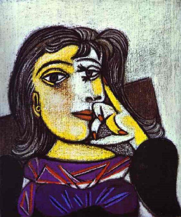 Pablo Picasso, Portrait of Dora Maar , 1937