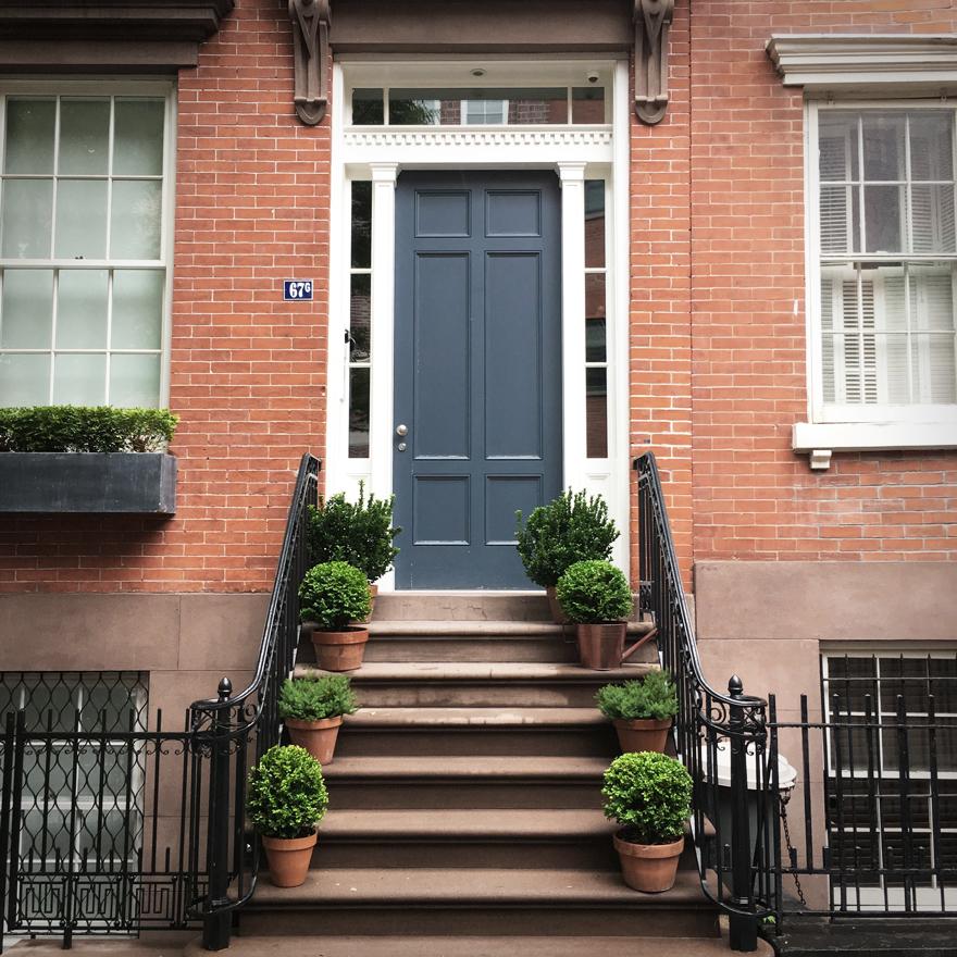 greenwich village door