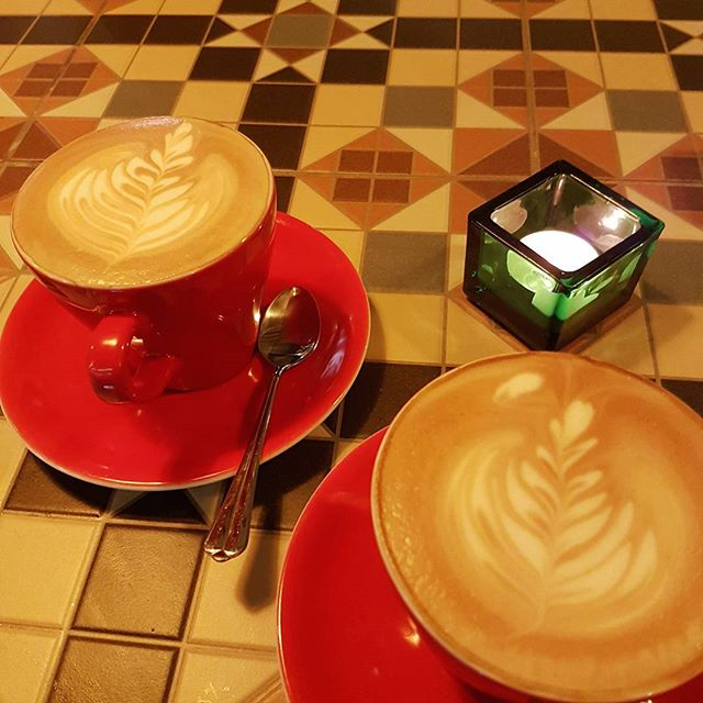 Come down for some beautiful Mexican reserva #mexicancoffee #latte