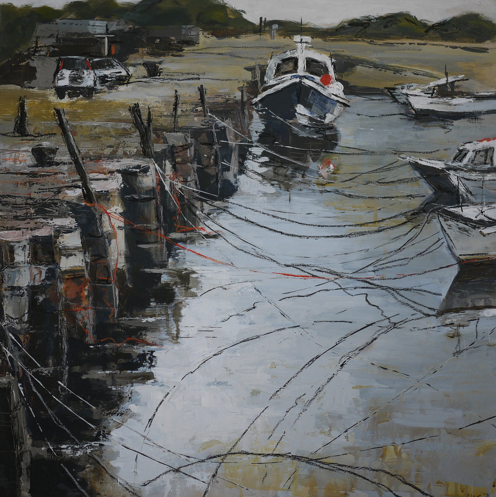 Boats Tied Up