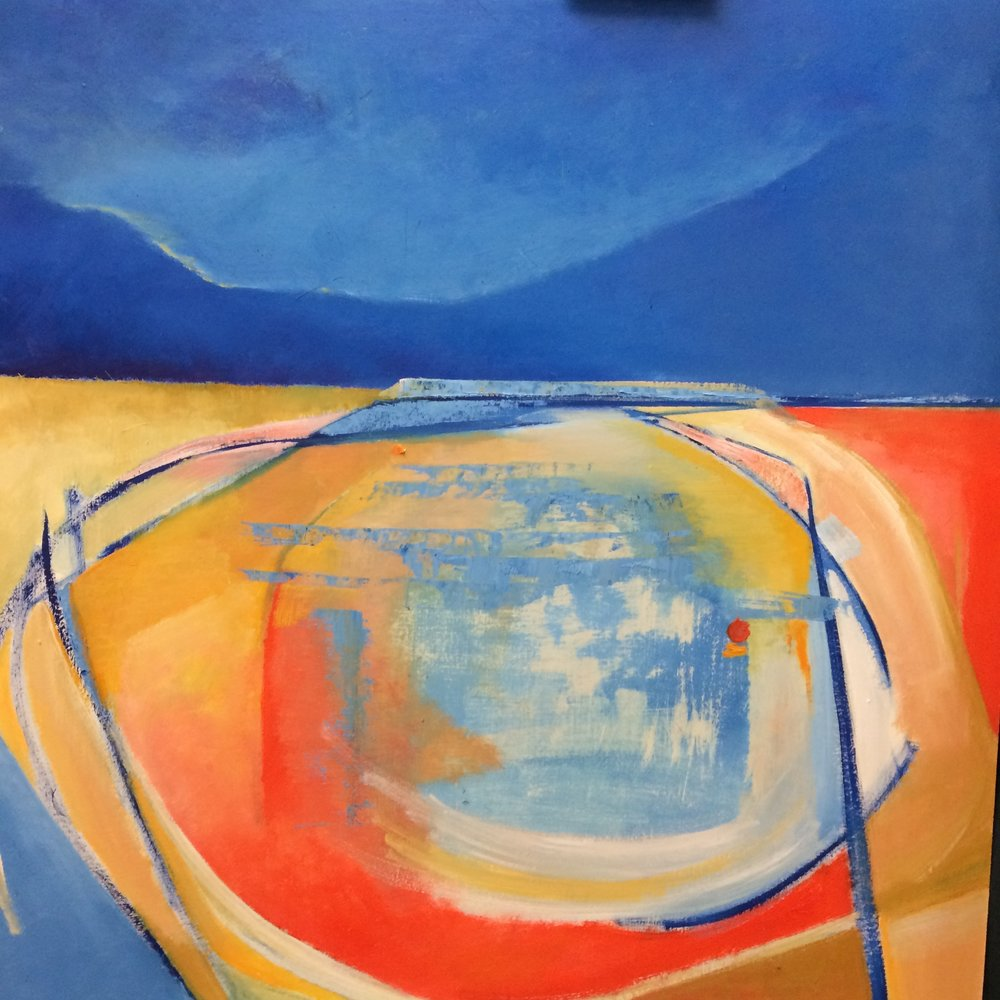 The Marine Lake - Our next exhibition is by Derek King, who continues his exploration into the abstract colours and shapes of his environment. This body of work concentrates on the Marine Lake at West Kirby and is sure to surprise and please the eye.The Exhibition opens on Friday 1st of June and will run throughout the month.Open evening, 1st June, 7:30pm to 9:30pm
