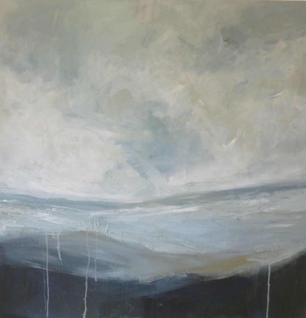"Fiona Philipps - October exhibition, ""Tiny Islands"" by Fiona Philipps.Building on her previous success at exploring the local coast, Fiona has built a collection of works that explores and captures the ever shifting atmospheres, colours and contours of the local estuary.Running throughout October, this is one not to miss."