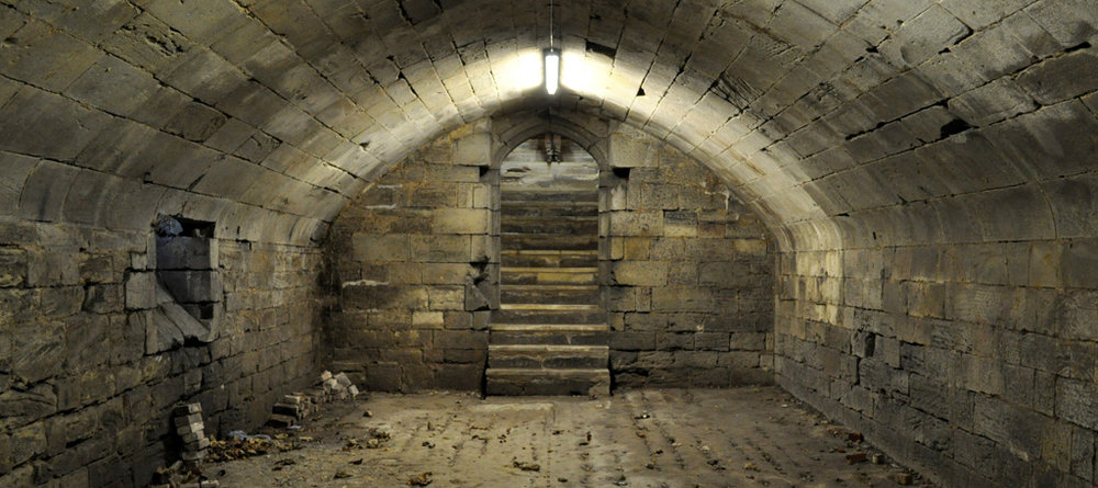 John of Gaunt's cellar