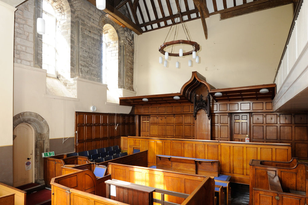 Court in Leicester Castle