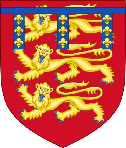 Arms of Henry of Grosmont, 1st Duke of Lancaster