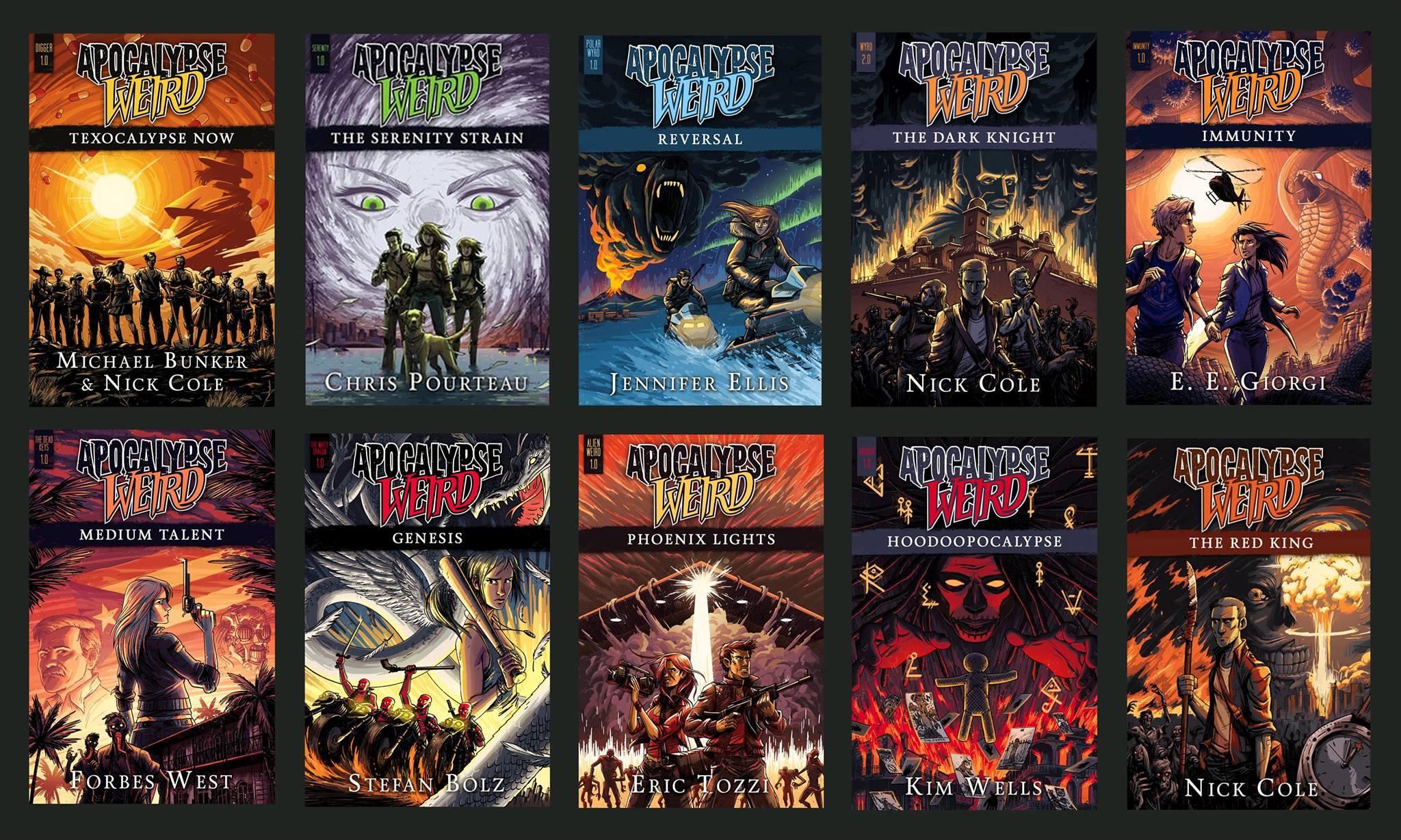 apocalypse weird books