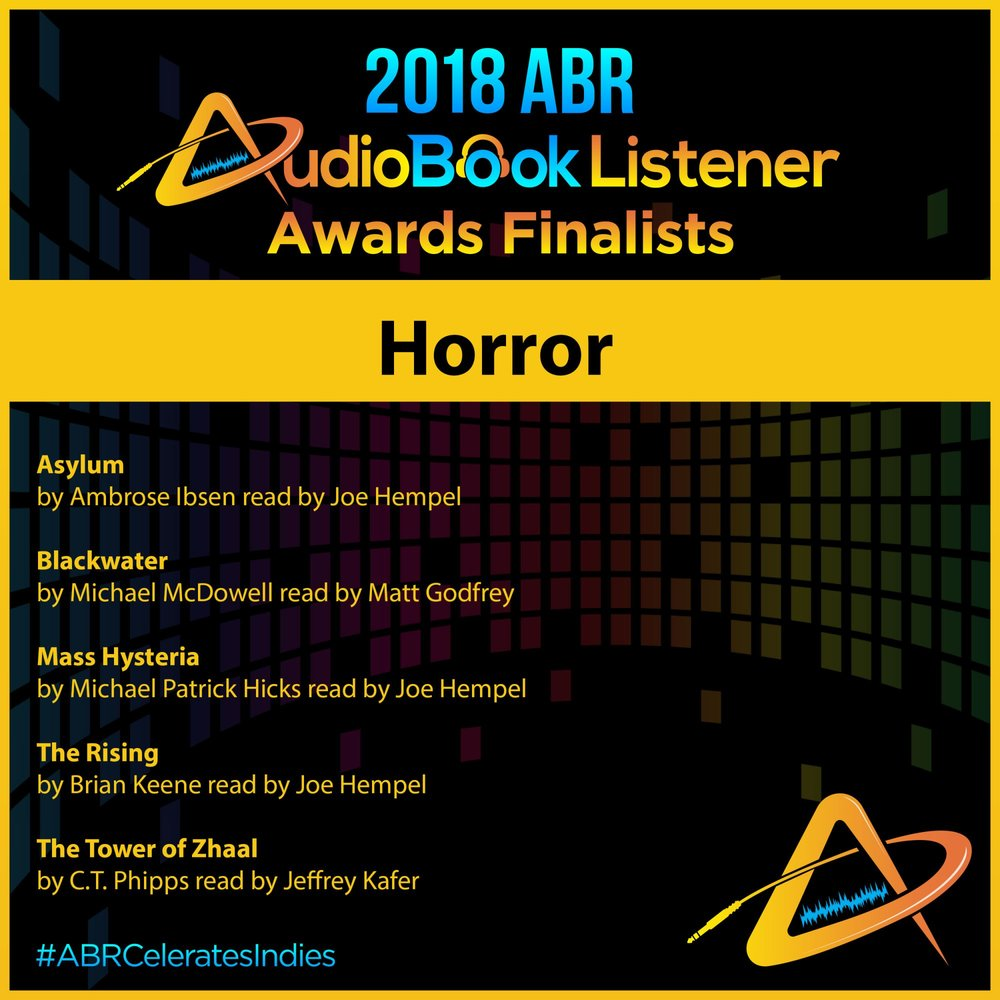 Be sure to vote in the 2018 ABR Audiobook Listener Awards! Just click this image to head to the polls.