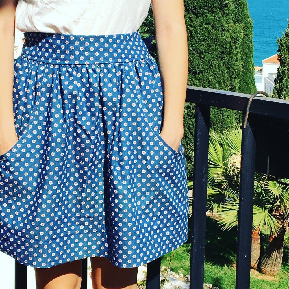 Megan Nielsen, Brumby skirt pattern.