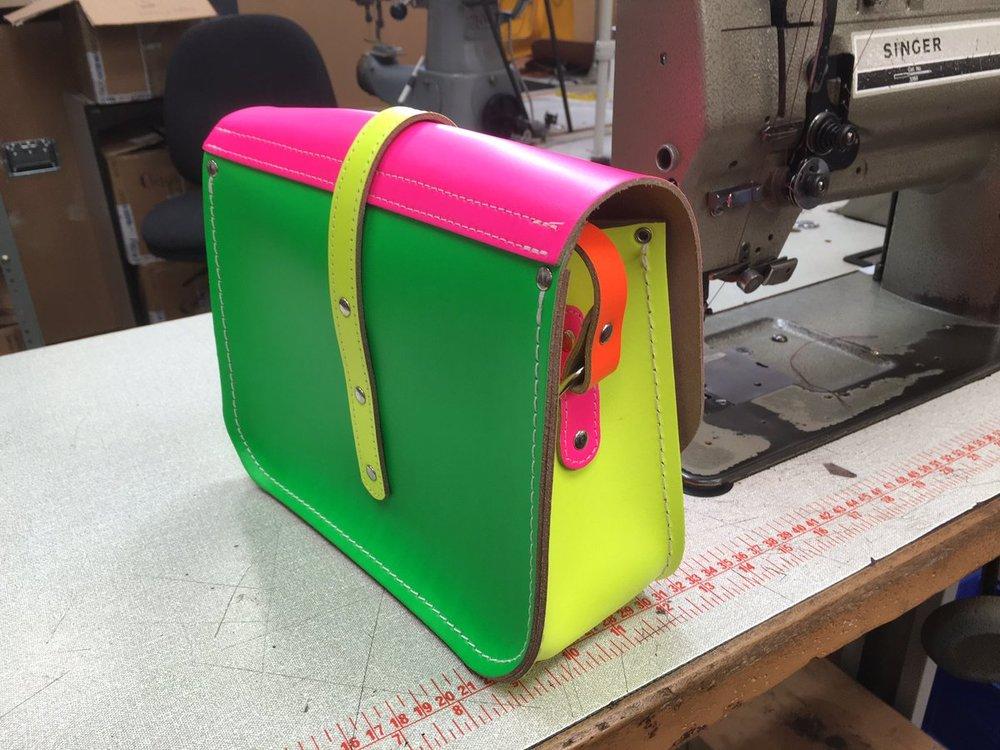 Custom Bobby bag by Savill Designs