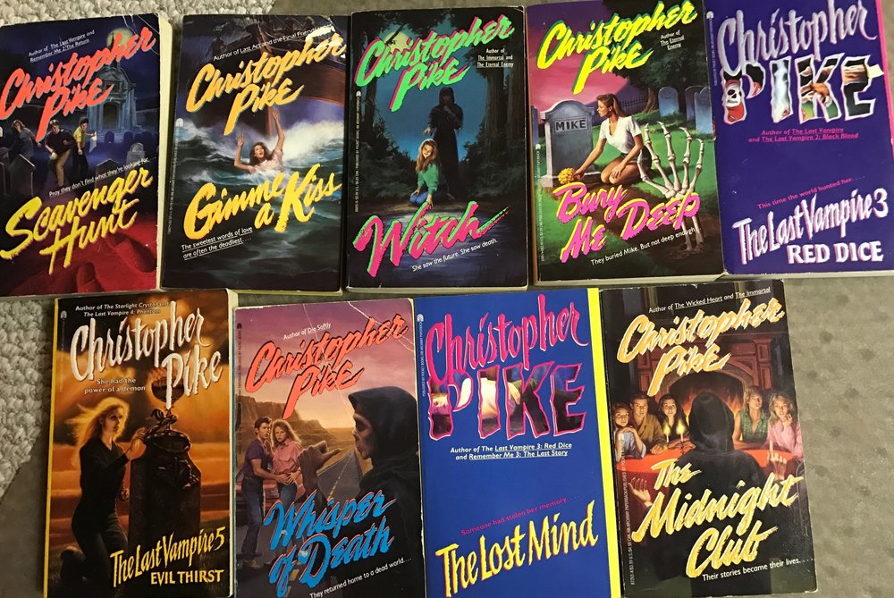 Christopher Pike books