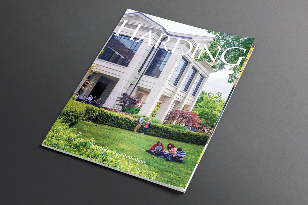 2013 Viewbook (cover),  Office of Undergraduate Admissions, Harding