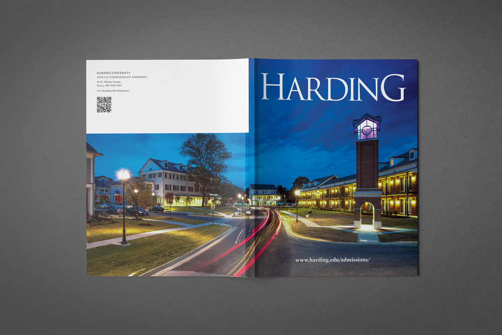 2014 Viewbook (cover),   Office of Undergraduate   Admissions,   Harding University