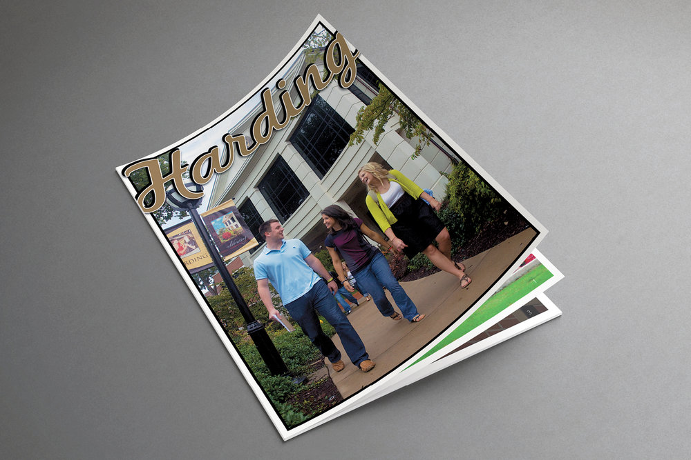 2009 Viewbook (cover),   Office of Undergraduate   Admissions, Harding