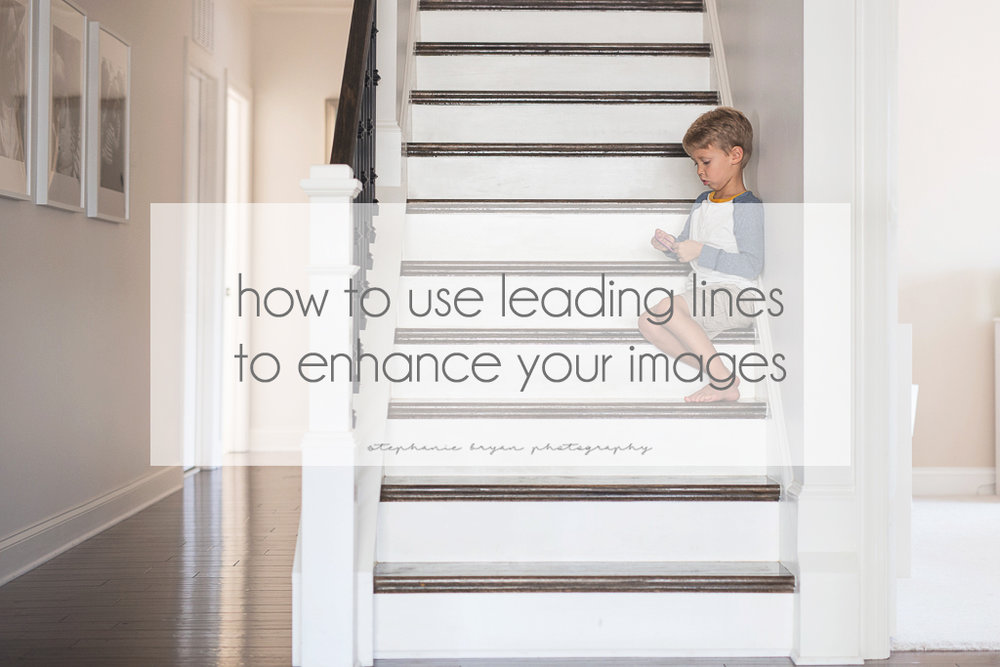 Stephanie Bryan Photography - How to use leading lines to enhance your images