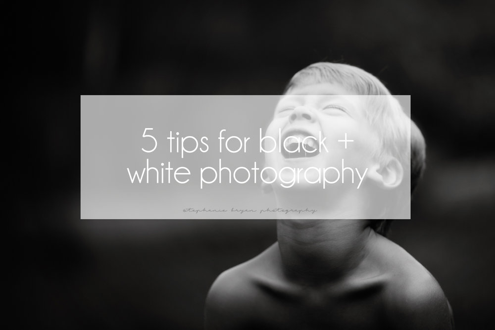5 tips for black and white photography