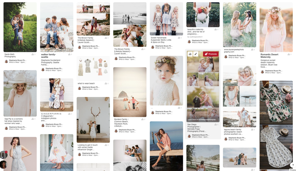 Stephanie Bryan Photography - What to wear Pinterest