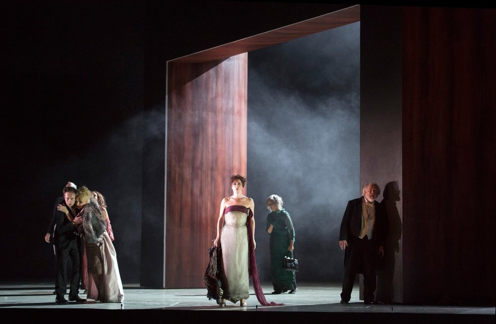 The Exterminating Angel | Sazlburg Festival | Composed by Thomas Ades | Directed by Tom Cairns | Set & Costumes by Hildegard Bechtler | Lighting by Jon Clark (Photograph by Salzburger Festspiele/Monika Rittershaus)