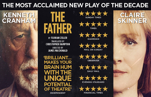 The Father by Florian Zeller in a translation by Christopher Hampton | Theatre Royal, Bath | Directed by James Macdonald |  Set & Costumes by Miriam Buether | Lighting by Guy Hoare