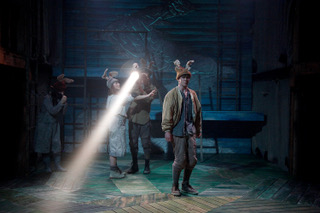 Watership Down by Rona Munro, based on the novel by Richard Adams | Watermill Theatre | Puppetry Designer & Director Matt Hutchinson | Directed by Adam Penford | Set & Costumes by Richard Kent | Lighting by Jack Knowles | Photography by Phillip Tull