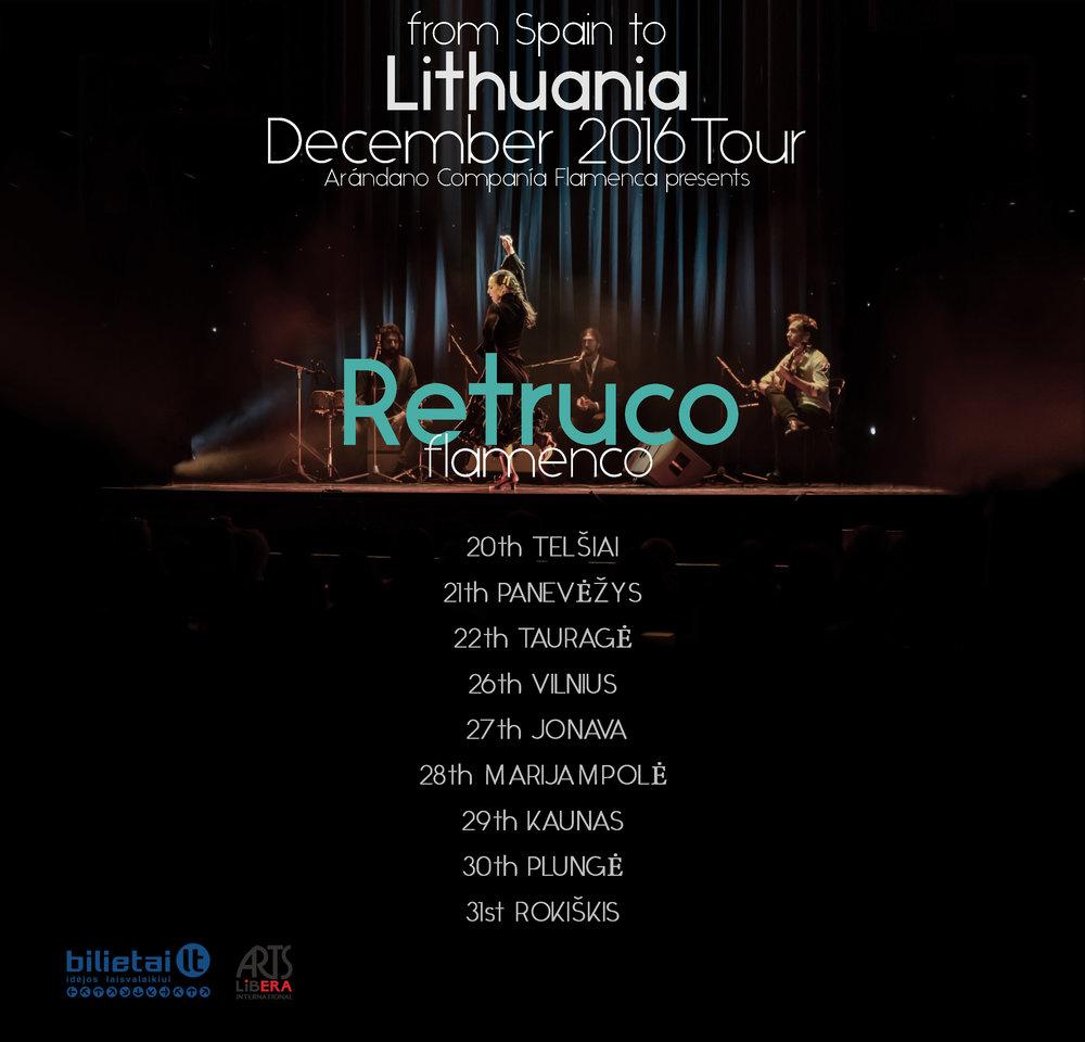 RETRUCO TOUR in LITHUANIA -