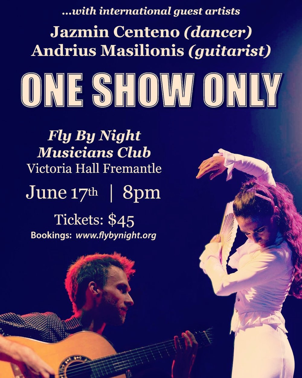 Flamenco NIGHT in PERTH (Australia) -