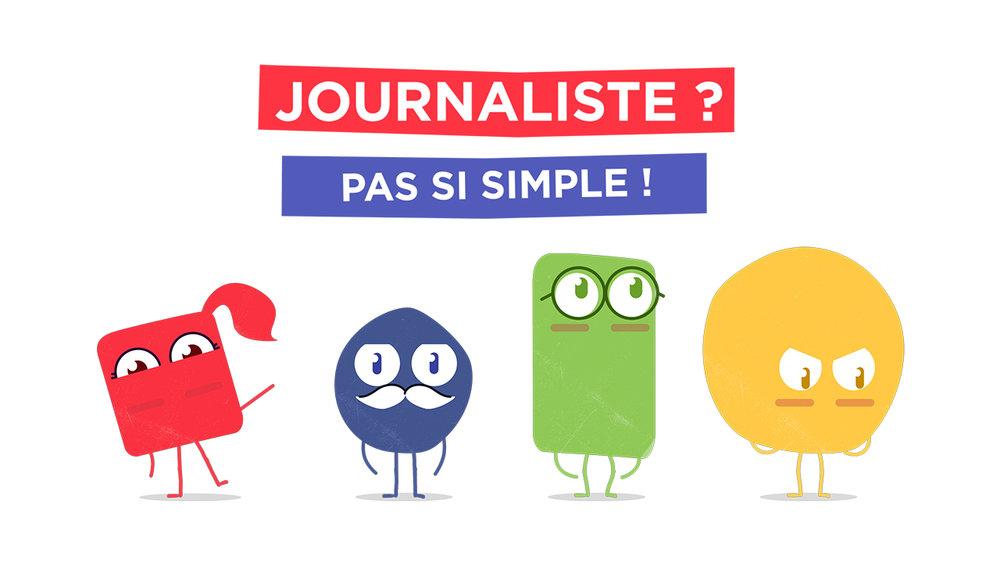 Journaliste ? Pas si simple ! - Série animée 20x3'