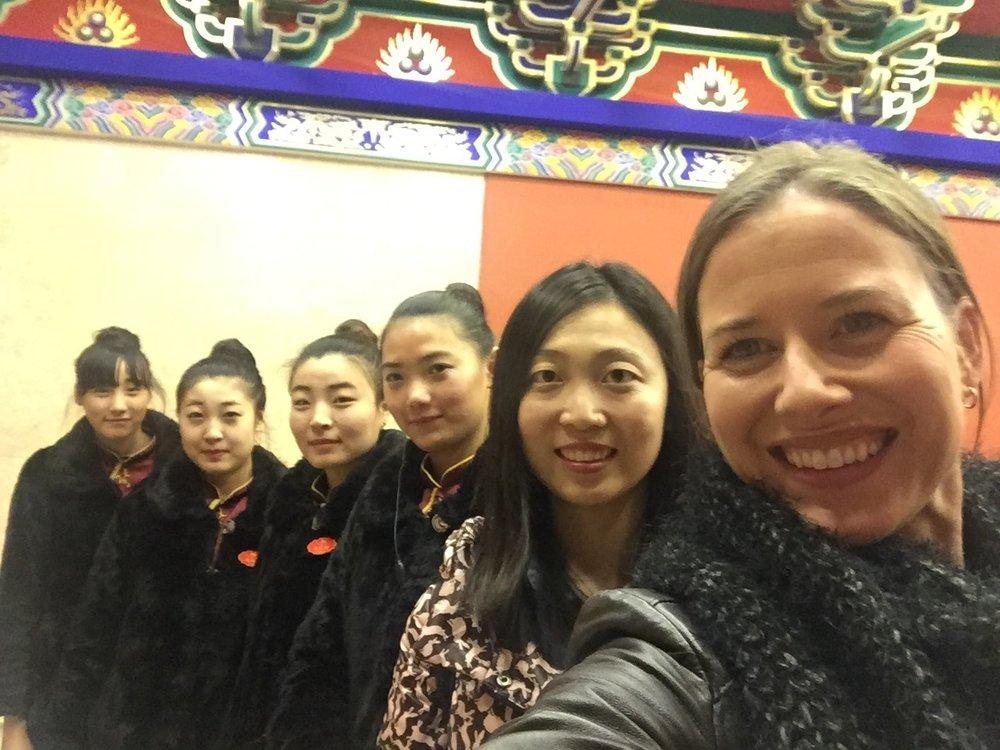 Staff at Lao Bian Dumpling